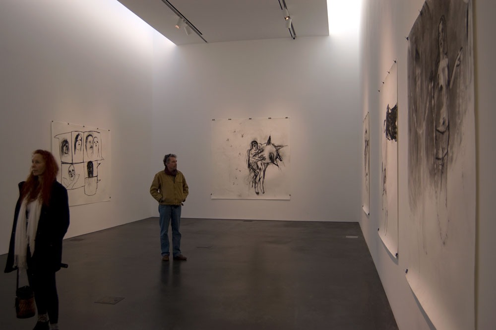 William Stockman drawings at Museum of Contemporary Art Denver