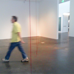 Fred Sandback show recreated at the Museum of Contemporary Art Denver