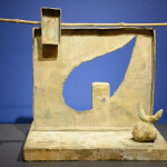 Sculpture made after 1970 by Joan Miro, on view at Denver Art Museum, March 2015