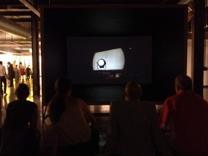 Video installations by Daniel Monroy Cuevas  for the Biennial of the Americas 2015 exhibition Vis a Vis