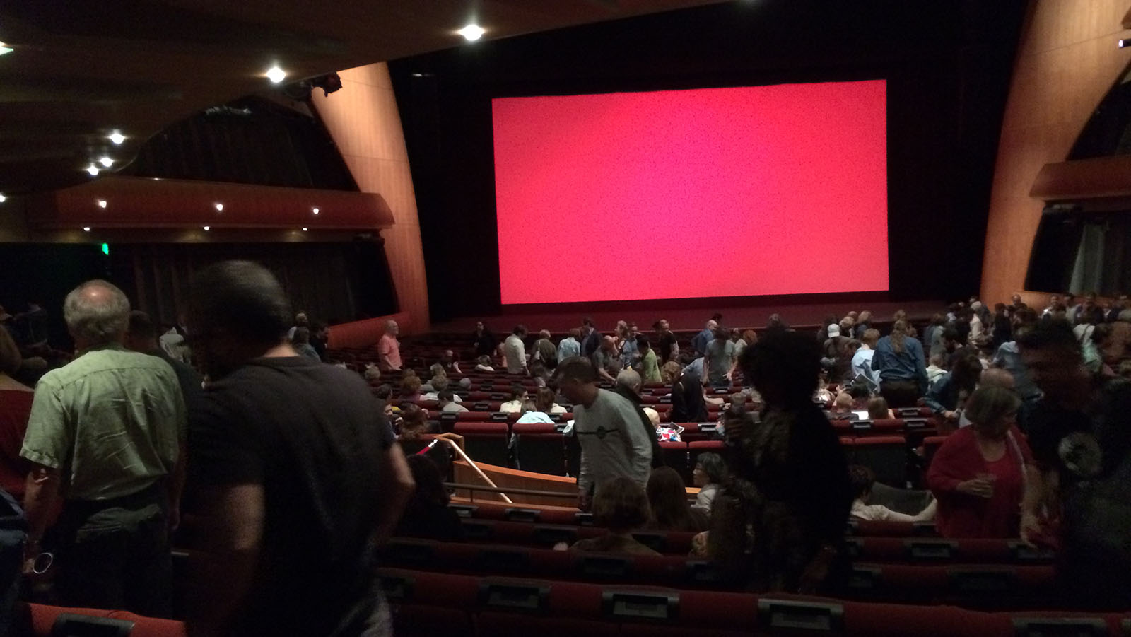 Red screen following the screen of River of Fundament