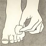 Licktenstein rubbing Menil Collection