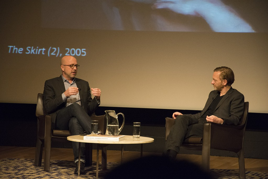 talk at Dallas Museum of Art between curator Jeffrey Grove and Michael Borremans