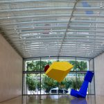 Joel Shapiro show at the Nasher Sculpture Center, Dallas, 20016-17