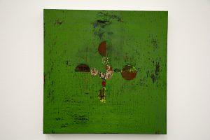 Gabriel Orozco green tempura painting
