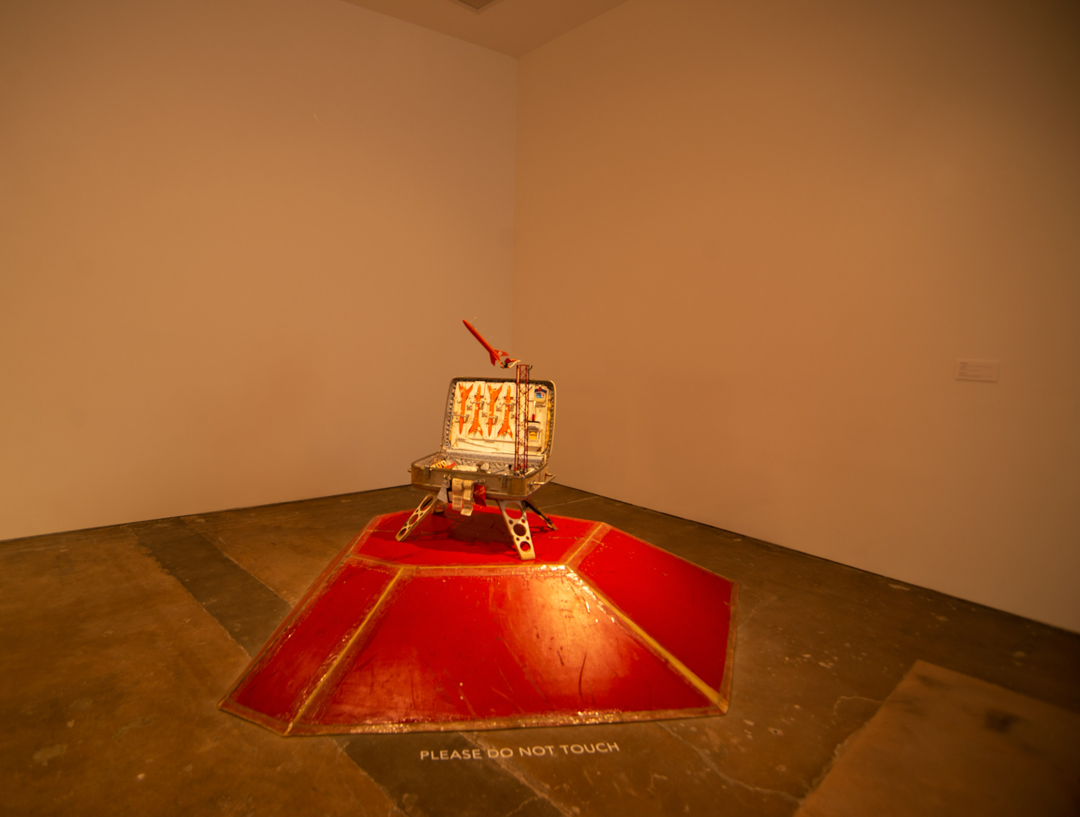 a sculpture by Tom Sachs from his series Space Program