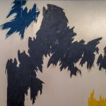 Clyfford Still painting from 1973