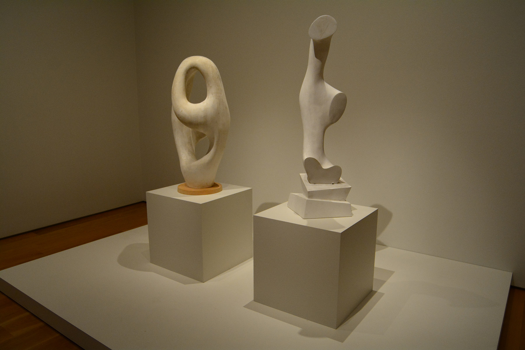 Arp sculptures Ptolemy and Daphne