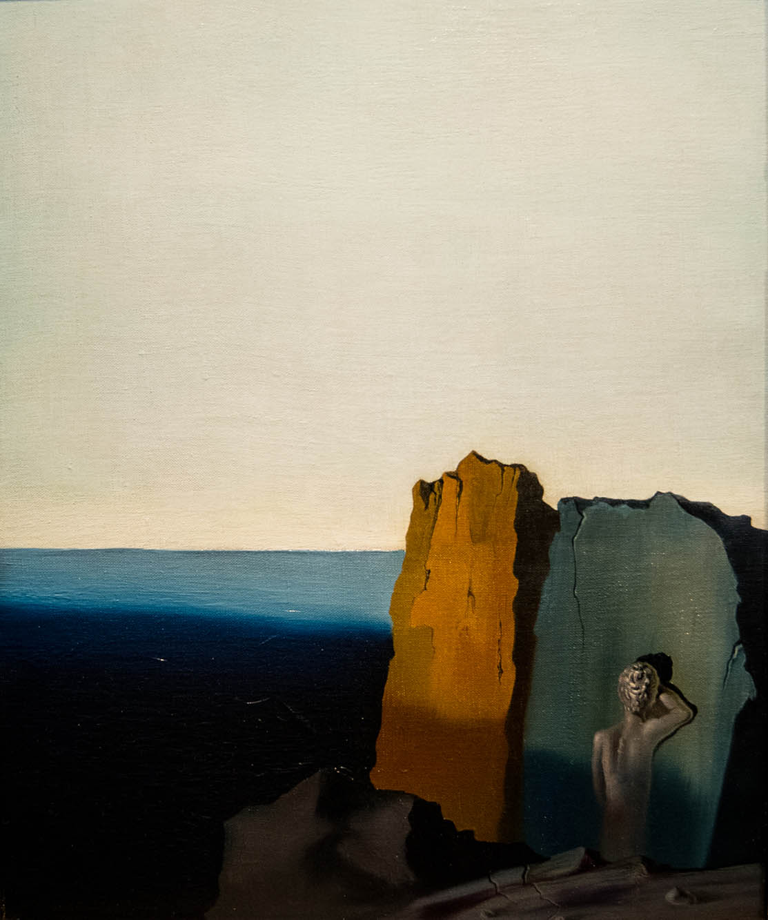 Salvador Dali painting, Solitude, 1931