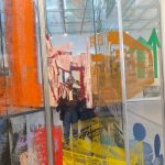Rauschenberg 1/4 Mile Painting